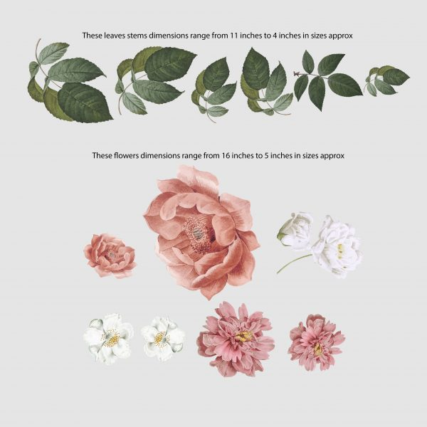 floral_Wall_decal_sizes