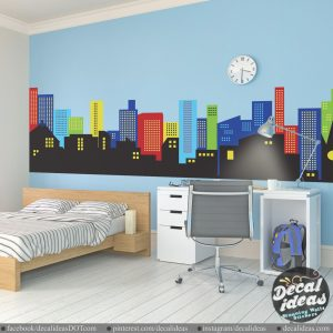 Nursery Skyline Decal