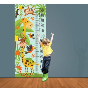 Kids Height Chart Sticker