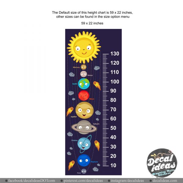 outer space height chart